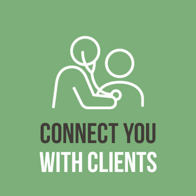Connect you with Clients